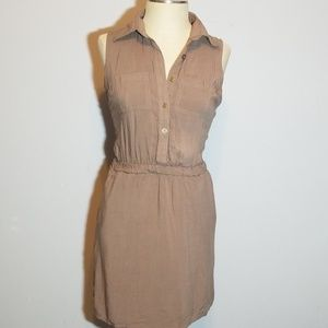 New Look button down dress
